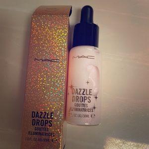 MAC dazzle drops, add to cream or foundation NEW